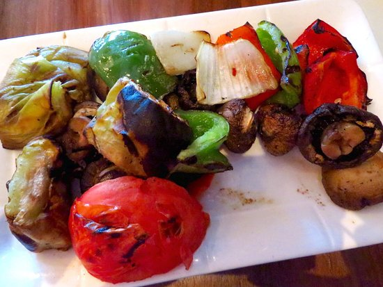 Woodbury, NY: Grilled vegetables