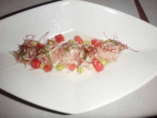 Michael Mina at Bellagio: sashimi