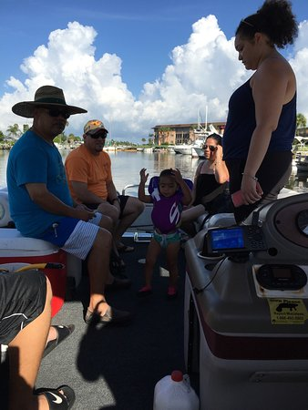 New Port Richey, FL: We went on Saturday and the staff was fast and we were told how to manage the boat to the detail