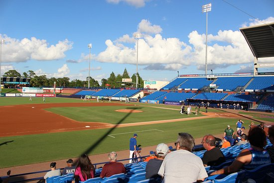 Port Saint Lucie, FL: Tradition Field before the game