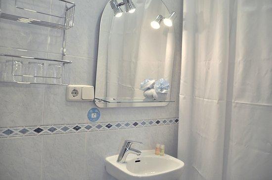 Hostal Patria: baño