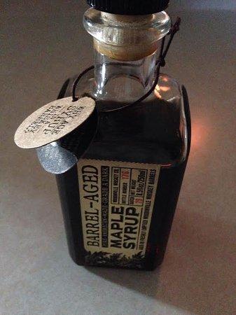 Woodinville, WA: Maple syrup