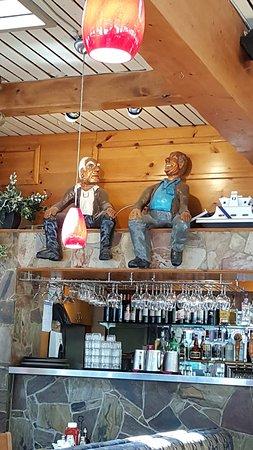 West Vancouver, Kanada: Bar decoration