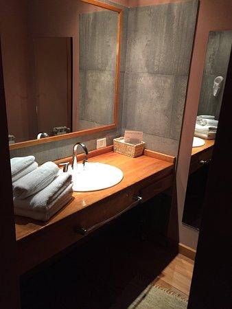 Hosteria El Coiron: ante baño