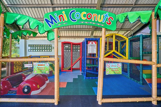 Cairns Coconut Holiday Resort: Mini Coconuts 0 - 6 Play Area