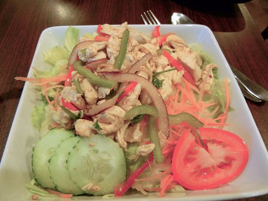 Song Phi Nong Thai Restaurant: Yum Gai (chicken salad)