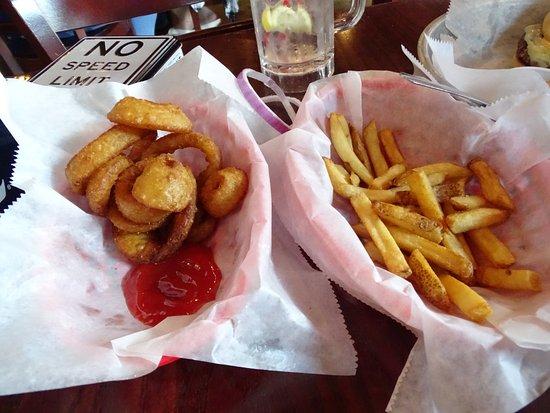 Bub's Burgers and Ice Cream: Onion rings & fries