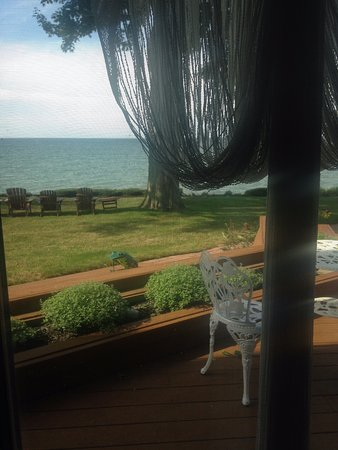 Sheffield Lake, OH: View from the Lakefront Suite