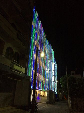 Ceylon City Hotel, Colombo: A footnote to my review. The hotel decked out in its festive best on New Year Eve 2015.