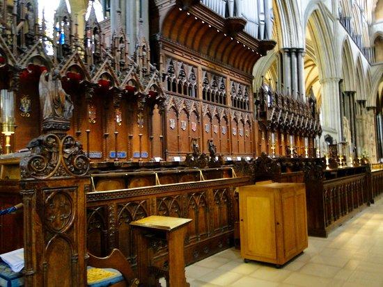 Salisbury Cathedral: Choir Stalls--Salisbury