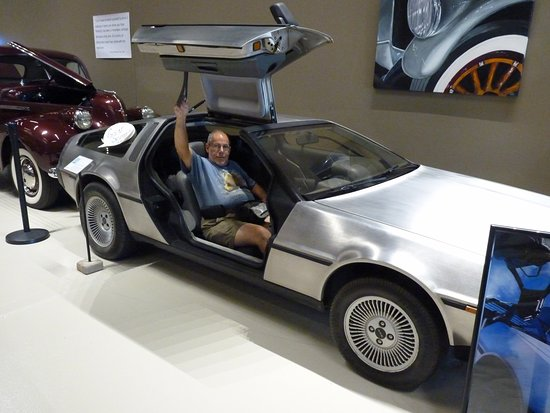 Kearney, NE: Back to the past to enjoy being Back To The Future: DeLorean