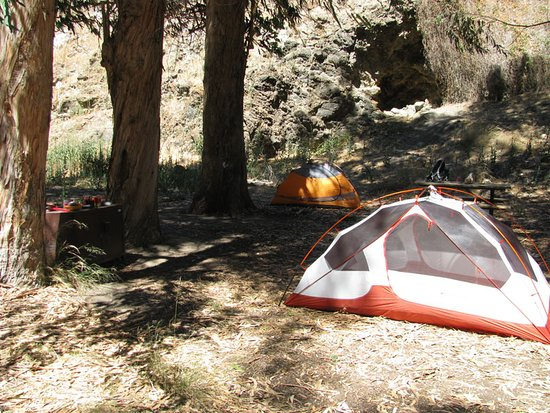 Scorpion Canyon Campground : one of Scorpion campground's sites