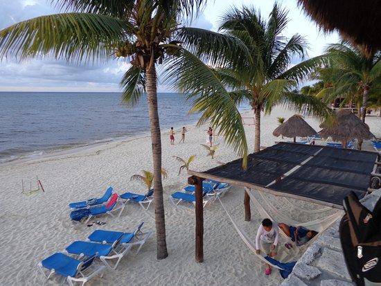 Melia Vacation Cozumel Golf - All Inclusive: Maravilloso nadar en el mar