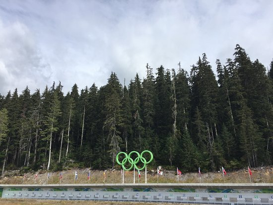 Whistler Olympic Park: Biathlon Shooting Range