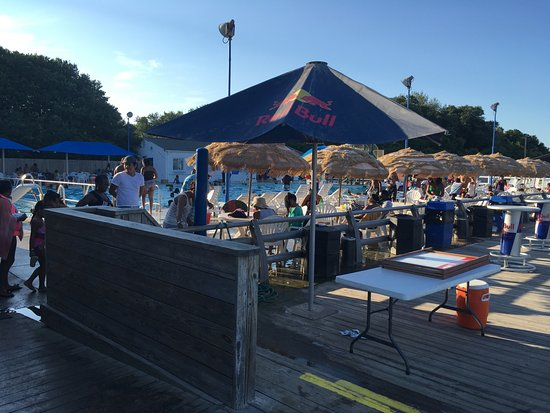 Hampton, Nueva Hampshire: The Pool from the Tiki bar deck