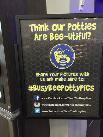 Live Oak, FL: Busy Bee Sign