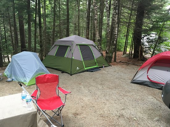 Twin Mountain, NH: Tent site-Electric