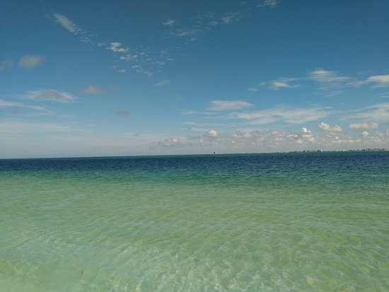 Shell Key Shuttle: Beautiful Water