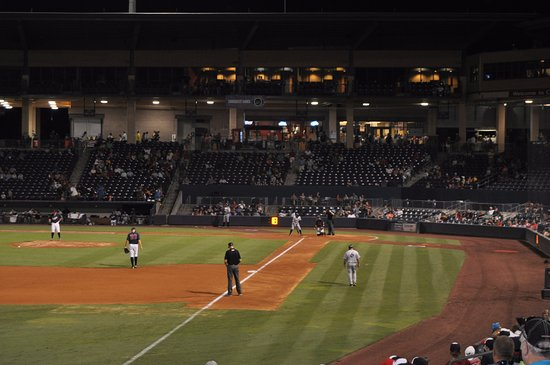 Lawrenceville, جورجيا: view from left field seats $9