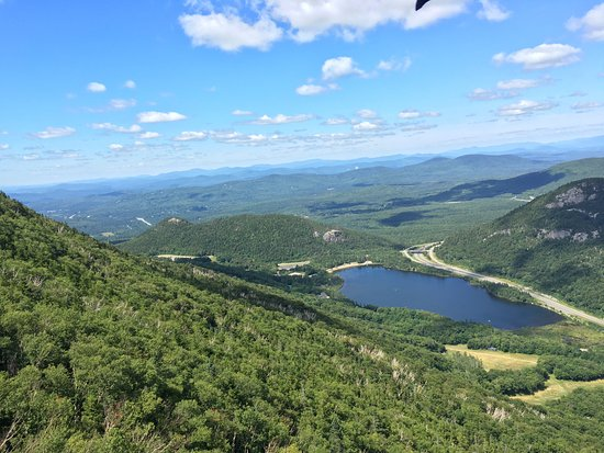 Franconia, Nueva Hampshire: Going down