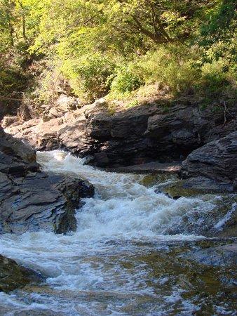 Parc de la Falaise et la Chute Kabir Kouba: La rivière