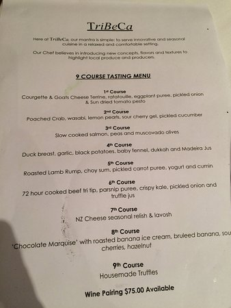 cheese course menu
