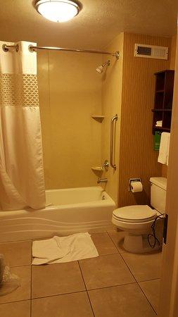 Hampton Inn St. George: Bathroom Large and Clean