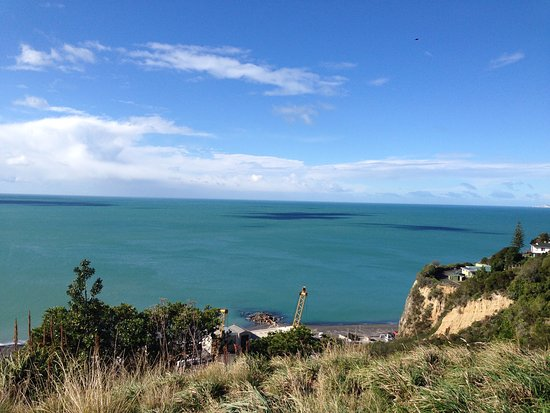 Napier, Nowa Zelandia: View from Bluff Hill Lookout