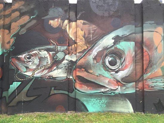 Putten, Holland: Graffiti
