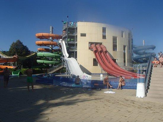 Ptuj, Slovenia: water slides, Thermaln Water Park