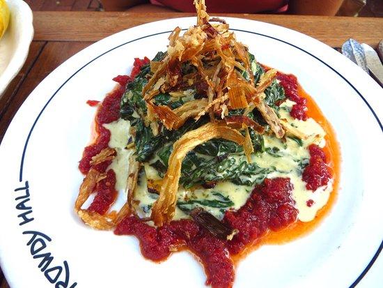 East Hampton, NY: Veggie lasagna