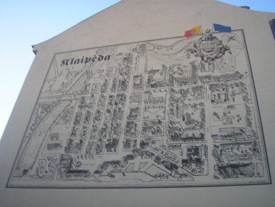 Map Picture Of Klaipeda Old City Klaipeda TripAdvisor - Klaipėda map