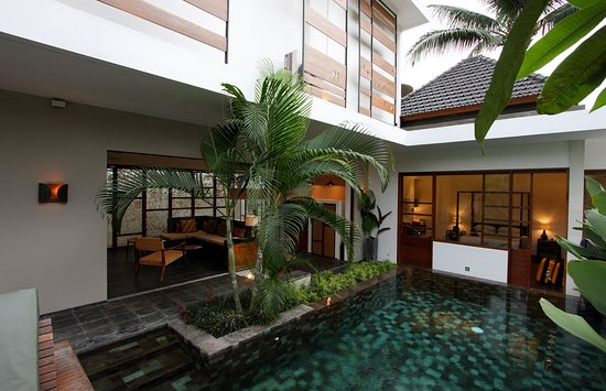‪‪Tegal Sari‬: Pool of Villa Sesapi downstairs‬