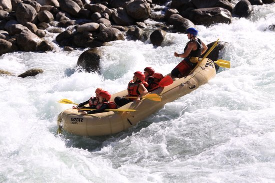 North Bend, Canadá: River Rafting