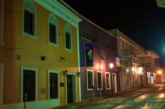 San German, Puerto Rico: Calle al costado del Museo de la Historia de San German