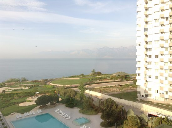 The Marmara Antalya: view from my suite