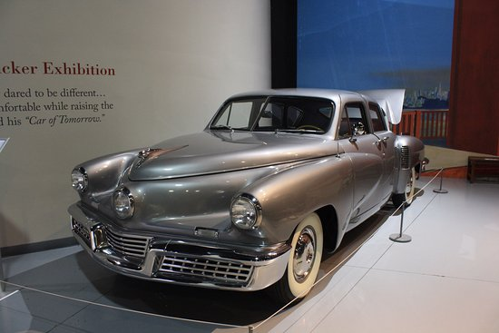 Antique Automobile Club of America Museum : Whole section devoted to Tucker automobiles.