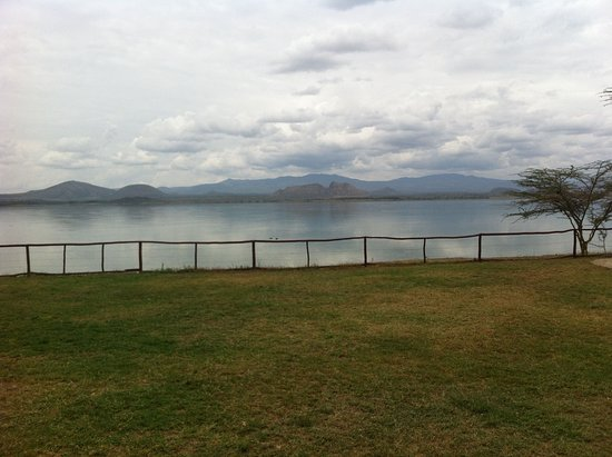 Lake Elementaita, Kenya : the lake view