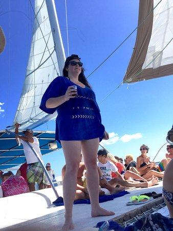 La Romana Province, Δομινικανή Δημοκρατία: Catamaran fun