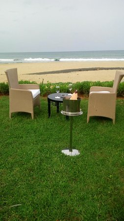 Covelong, India: Villa dining option- VBT Fisherman's cove Chennai.