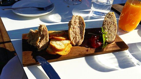Upper Moutere, Yeni Zelanda: Rabbit + Pancetta Rillettes