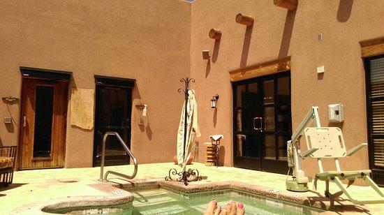 Santa Ana Pueblo, New Mexiko: Outside sauna