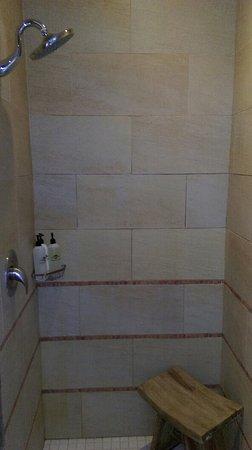 Santa Ana Pueblo, Nuevo Mexico: Shower