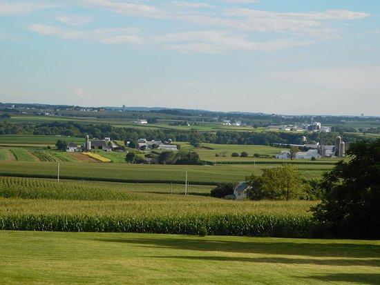Terre Hill, Pensilvania: Farmland Nearby