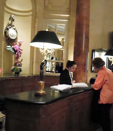 Hotel Ritz, Madrid: reception