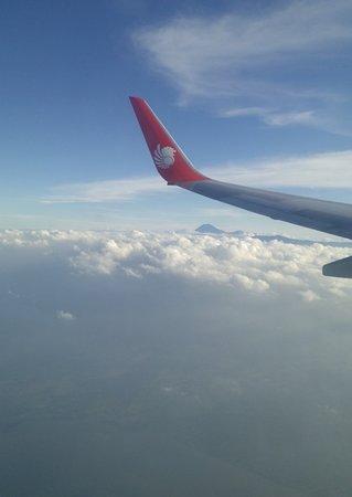 East Nusa Tenggara, Indonezja: menakjubkan di shoot dari pesawat