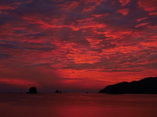 Saiki, Japan: 豊後水道の夜明け