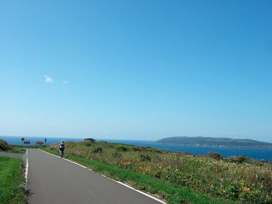 Haboro-cho, Japón: 焼尻島が見える