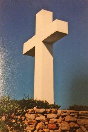 Ла-Меса, Калифорния: Mount Helix cross in the daytime