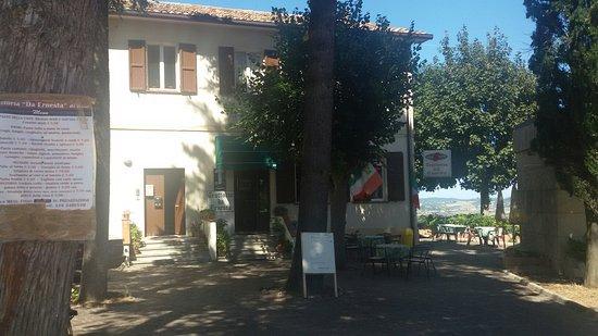 Montegridolfo, Italia: Trattoria Del Castello Da Ernesta